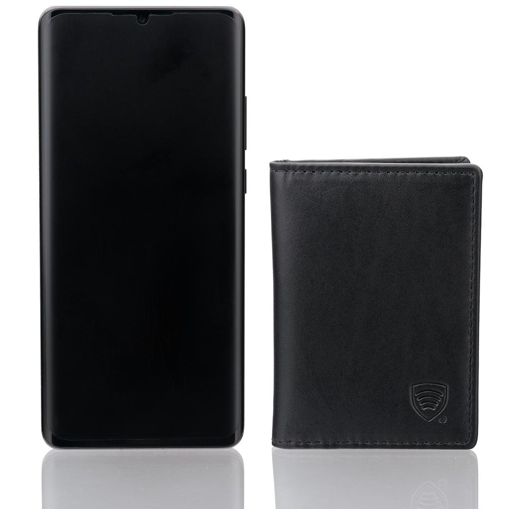 Rfid Blocking Genuine Leather Travel Card Oyster Card Holder