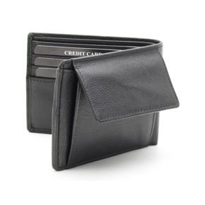 Slim and compact RFID blocking wallet