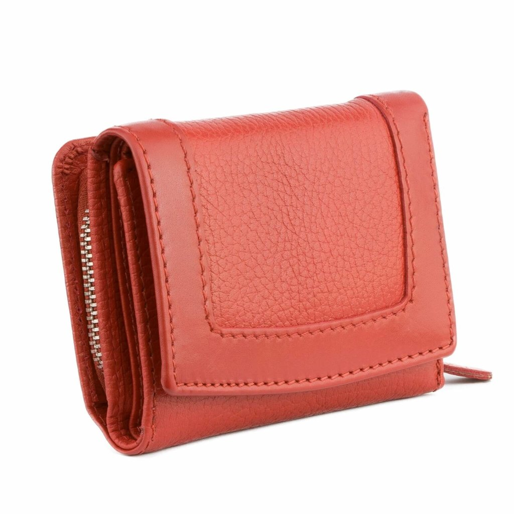 bbc26c7f931 Ladies RFID blocking purse - french style (Red) Click to zoom ...