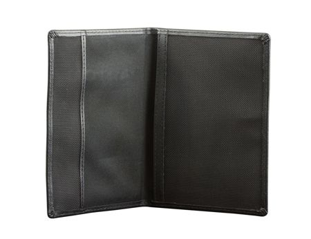 Shielded biometric passport cover (Black)