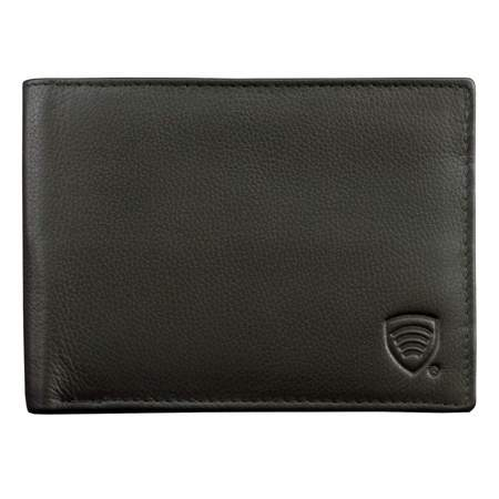 RFID Blocking billfold wallet for 6 credit cards (Black)
