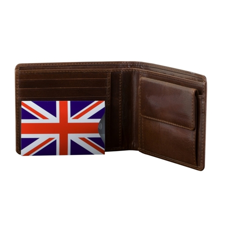RFID Blocking contactless card protector (Union Jack) 10 pack