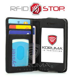 RFID & NFC blocking iPhone 4S wallet