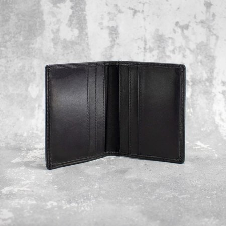 RFID blocking genuine leather card holder with card album
