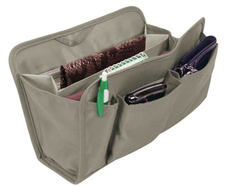 RFID blocking ladies purse organizer (Grey)