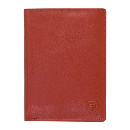 RFID blocking travel wallet (Red)