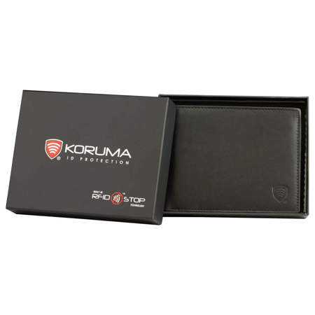 RFID blocking wallet for contactless cards - Koruma II